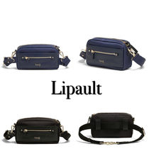 Lipault Casual Style Unisex 2WAY Plain Hip Packs