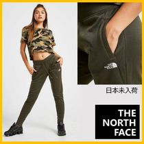 THE NORTH FACE Casual Style Unisex Street Style Plain Long Logo