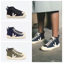 VEJA Vegan Round Toe Rubber Sole Lace-up Casual Style Unisex