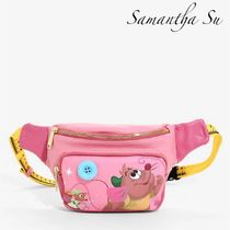 Disney Casual Style Unisex Collaboration 2WAY Hip Packs