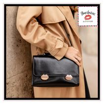 Bons baisers de Paname Leather Shoulder Bags