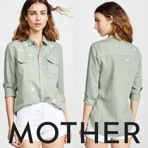 MOTHER Casual Style Shirts & Blouses