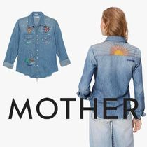 MOTHER Casual Style Denim Shirts & Blouses