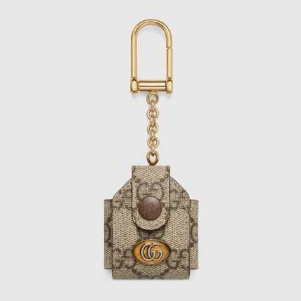 GUCCI Ophidia Unisex Canvas Logo Wallets & Card Holders