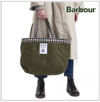 Barbour Casual Style Unisex A4 Logo Totes
