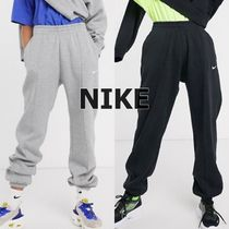 Nike Casual Style Sweat Street Style Plain Cotton Oversized