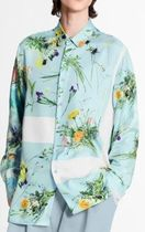Louis Vuitton Shirts Silk Flower Patchwork Shirt 4