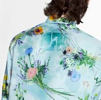 Louis Vuitton Shirts Silk Flower Patchwork Shirt 6
