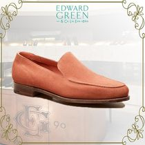 Edward Green Loafers Suede Plain U Tips Loafers & Slip-ons