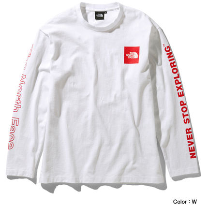 THE NORTH FACE Long Sleeve Crew Neck Long Sleeves Cotton Long Sleeve T-shirt Logo 4