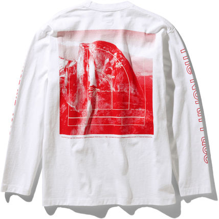 THE NORTH FACE Long Sleeve Crew Neck Long Sleeves Cotton Long Sleeve T-shirt Logo 5