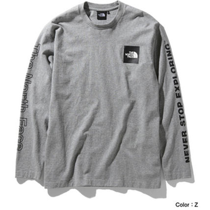 THE NORTH FACE Long Sleeve Crew Neck Long Sleeves Cotton Long Sleeve T-shirt Logo 8