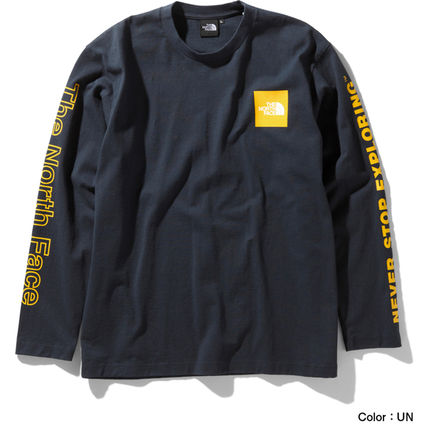 THE NORTH FACE Long Sleeve Crew Neck Long Sleeves Cotton Long Sleeve T-shirt Logo 10
