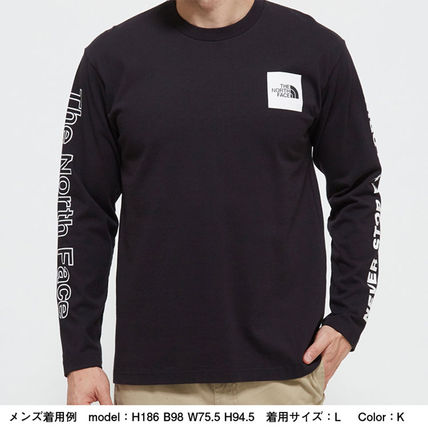 THE NORTH FACE Long Sleeve Crew Neck Long Sleeves Cotton Long Sleeve T-shirt Logo 14