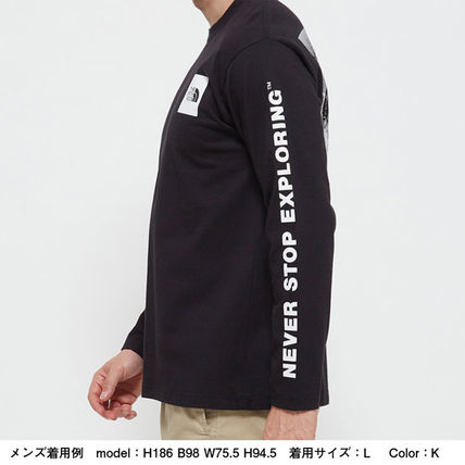 THE NORTH FACE Long Sleeve Crew Neck Long Sleeves Cotton Long Sleeve T-shirt Logo 15