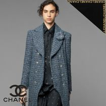 CHANEL Long Sleeves Cotton Shirts