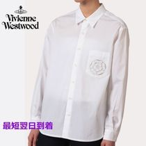 Vivienne Westwood Long Sleeves Cotton Shirts & Blouses