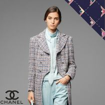 CHANEL Casual Style Denim Shirts & Blouses