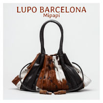 Lupo Barcelona Casual Style Tassel Other Animal Patterns Leather