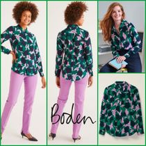 Boden Casual Style Silk Shirts & Blouses