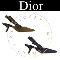 Christian Dior JADIOR Star Camouflage Casual Style Blended Fabrics Pin Heels