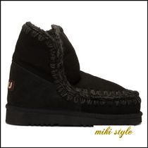 Mou Mid Heel Boots