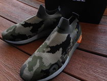 DIESEL Camouflage Driving Shoes Deck Shoes Loafers & Slip-ons