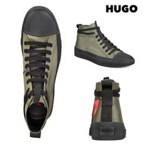 Hugo Boss Street Style Plain Sneakers