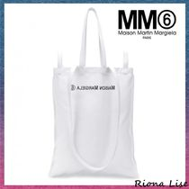MM6 Maison Margiela Casual Style A4 3WAY Plain Totes
