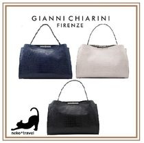 GIANNI CHIARINI A4 Office Style Handbags
