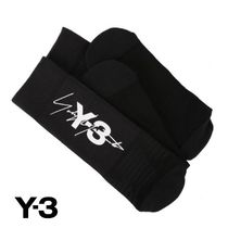 Y-3 Unisex Street Style Collaboration Logo Undershirts & Socks