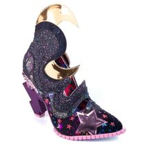 Irregular Choice Star Plain Toe Casual Style High Heel Pumps & Mules