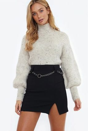 Casual Style Blended Fabrics Street Style Long Sleeves