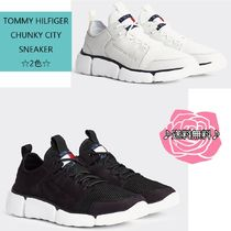 Tommy Hilfiger Street Style Plain Leather Sneakers