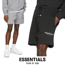 FEAR OF GOD ESSENTIALS Unisex Sweat Street Style Collaboration Plain Oversized