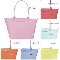 Longchamp LE PLIAGE NYLON Nylon Plain Handbags