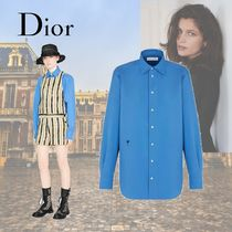 Christian Dior Casual Style Long Sleeves Cotton Elegant Style
