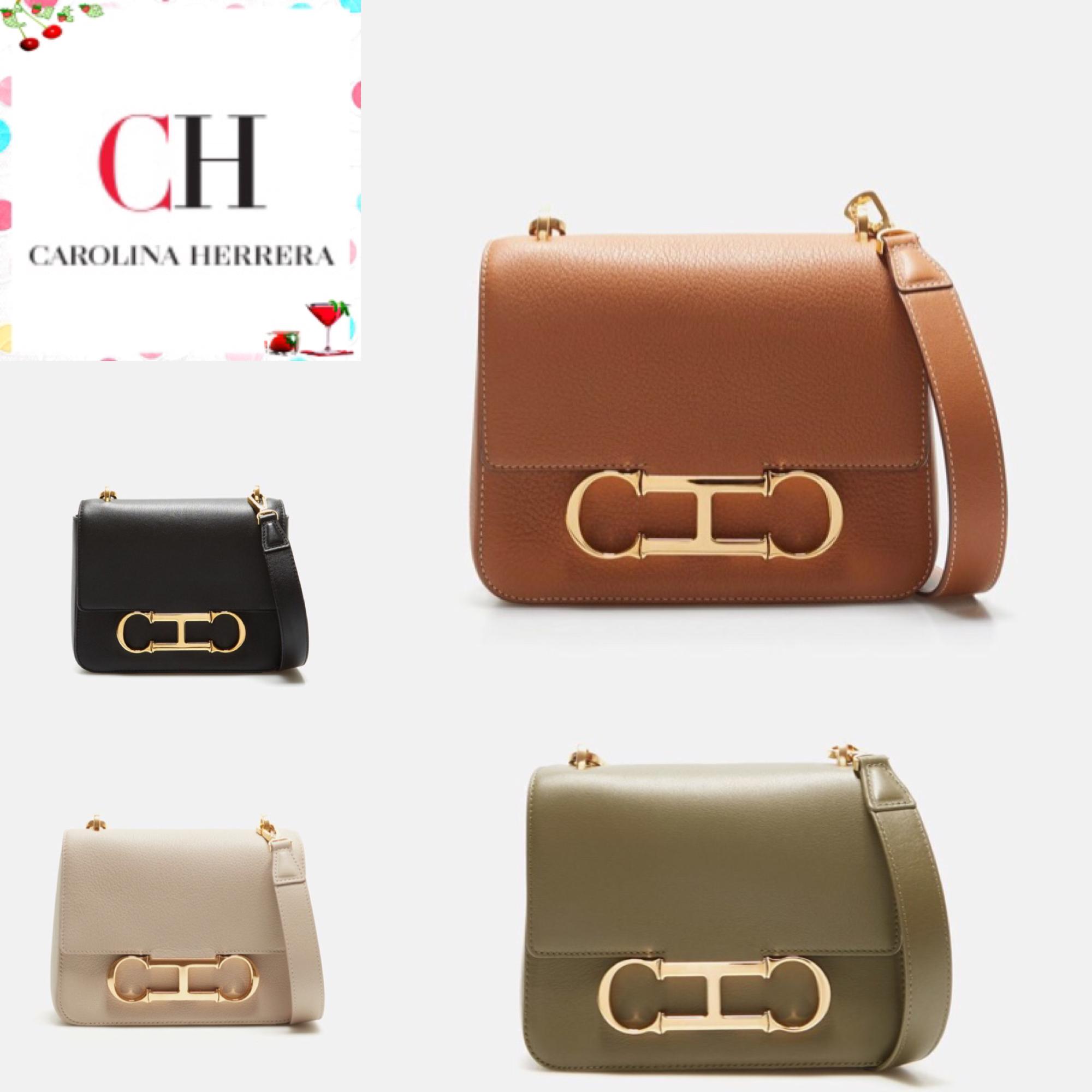 shop carolina herrera bags