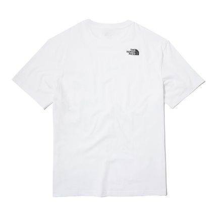 THE NORTH FACE More T-Shirts Unisex Street Style Cotton Short Sleeves 9