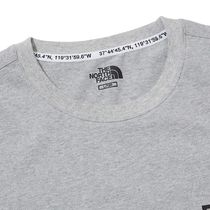 THE NORTH FACE More T-Shirts Unisex Street Style Cotton Short Sleeves 16