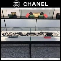 CHANEL Casual Style Silk Plain Party Style Home Party Ideas