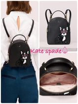 kate spade new york Other Animal Patterns Leather Backpacks