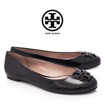 Tory Burch Plain Leather Flats