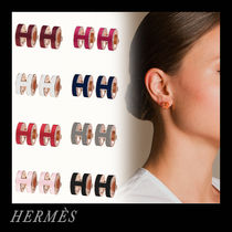 HERMES Casual Style Office Style Earrings
