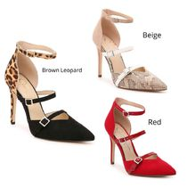 Jessica Simpson Casual Style Pin Heels Party Style Elegant Style