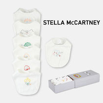 Stella McCartney Unisex Organic Cotton Co-ord Baby Girl Bibs & Burp Cloths