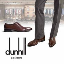 Dunhill Street Style Plain Leather Oxfords