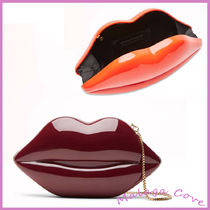 Lulu Guinness Casual Style 3WAY Party Style Elegant Style Clutches
