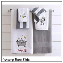 Pottery Barn Unisex Collaboration Plain Characters Bath & Laundry