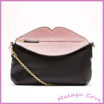 Lulu Guinness Casual Style 2WAY Leather Elegant Style Shoulder Bags